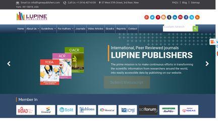 Lupine Publishers