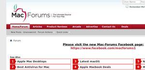 Mac Forums