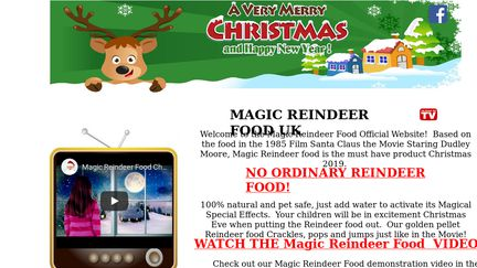 Magicreindeer.co.uk