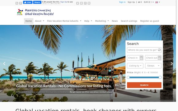 Global vacation rentals