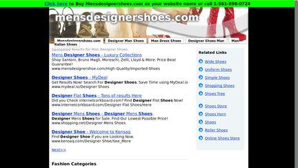 Mensdesignershoes