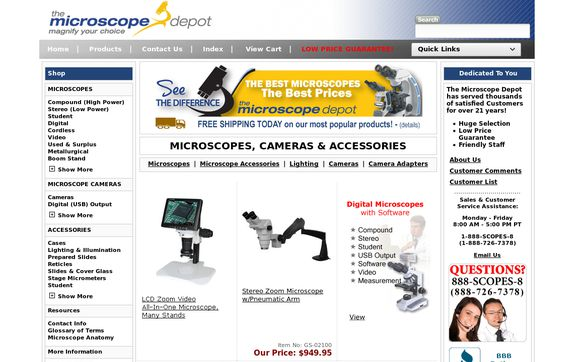The Microscope Depot