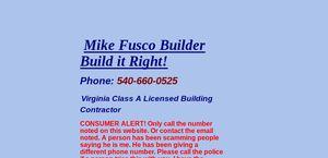 Mikefuscobuilder.com