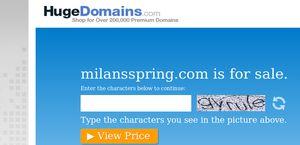 Milan's Spring