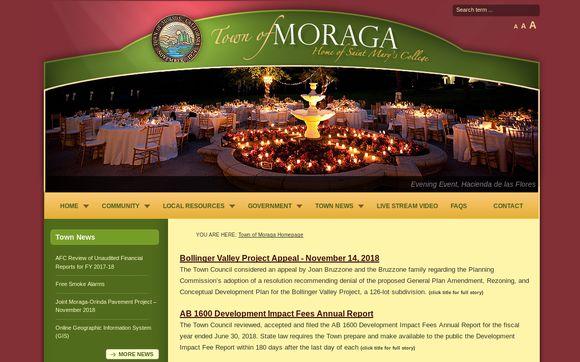 Moraga.ca.us