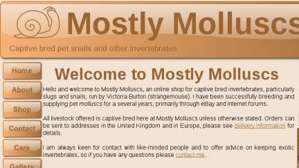 Mostlymolluscs.co.uk
