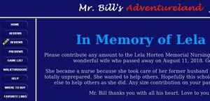 Mr. Bill's Adventureland