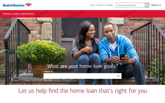 Home Loans and Today's Rates from Bank of America