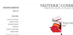 Neotericcosmetics.com