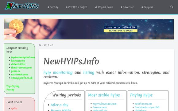 NewHYIPs Info