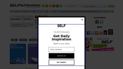 Nutritiondata.self.com