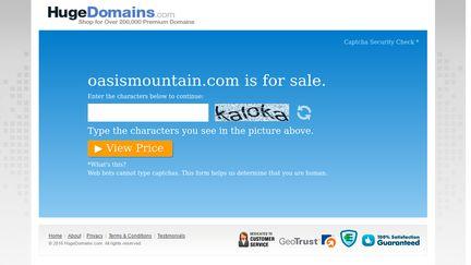 Oasis Mountain