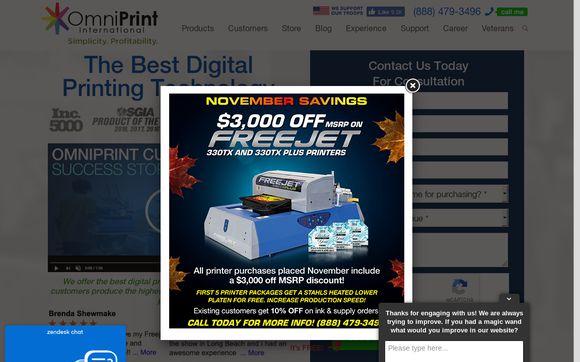 DTG Printers, Digital Direct To Garment Printers