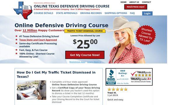 OnlineTXDefensiveDrivingCourse