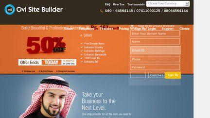 Ovi Site Builder