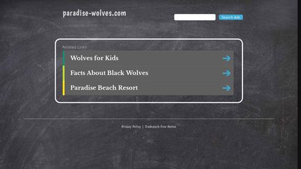 Paradise Wolves