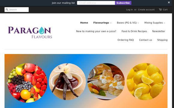 Paragon Flavours