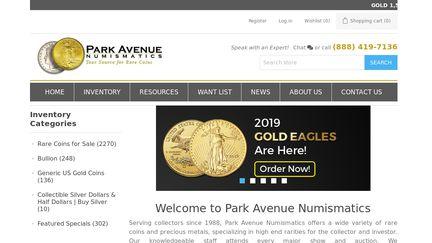 Park Ave Numismatics