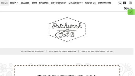 Patchwork With Gail B
