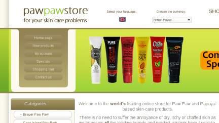 Pawpawstore.co.uk