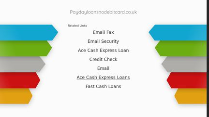Payday Loans No Debit Card