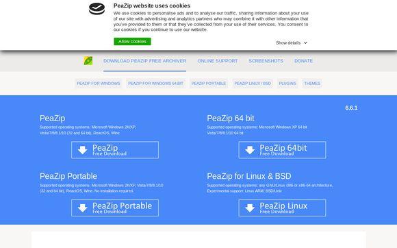 Peazip.org