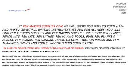 Pen Making Supplies