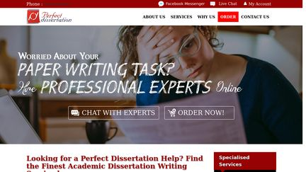 Perfectdissertation.co.uk