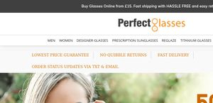 abcd9a8070 PerfectGlasses.co.uk Reviews - 270 Reviews of Perfectglasses.co.uk ...