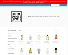 Perfume Samples & Decants