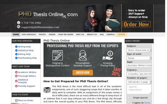 PhDThesisOnline