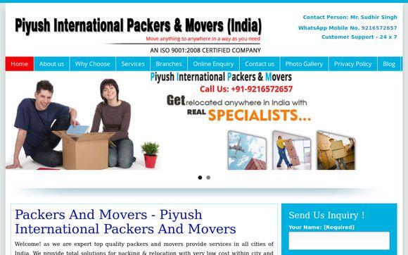 Piyush International Packers and Movers