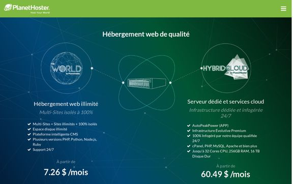 PlanetHoster.net