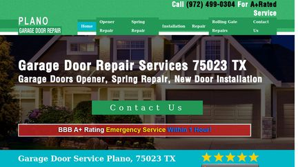 Plano Garage Doors Repair
