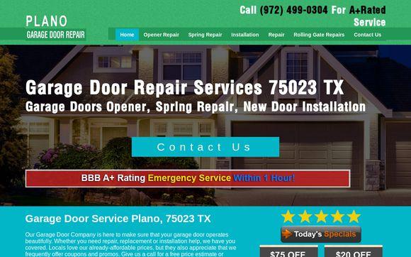 Plano Garage Doors Repair