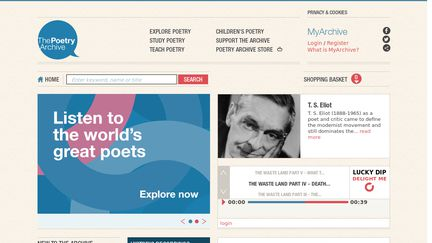 Poetryarchive.org