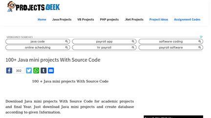 ProjectsGeek