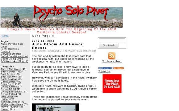 Psycho Solo Diver