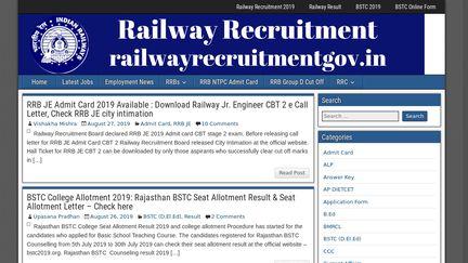 Railwayrecruitmentgov.in