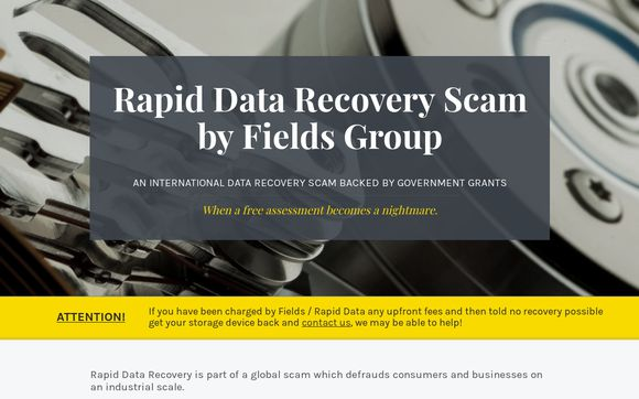 Rapid Data Recovery