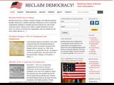 Reclaim Democracy