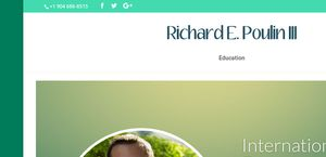 Richard E. Poulin III Resume
