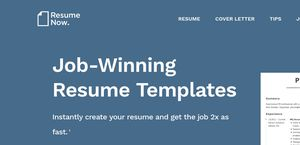 Resume Now  Resume Com Review