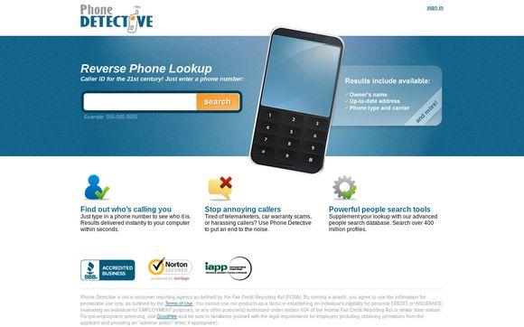Reverse Phone Detective