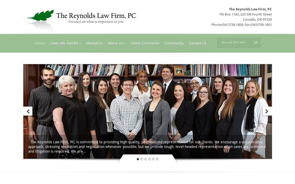 THE REYNOLDS LAW FIRM, PC