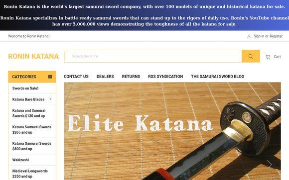 Ronin Katana Sword Company