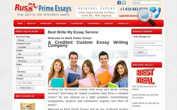 Rush Prime Essays