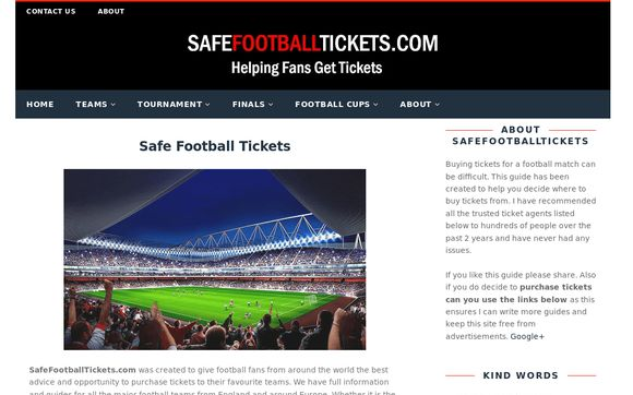 SafeFootballTickets