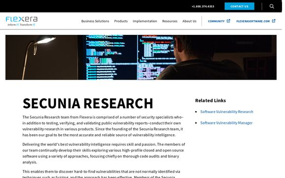 Secunia Research Community