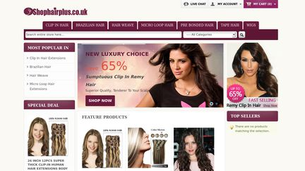 Shophairplus.co.uk